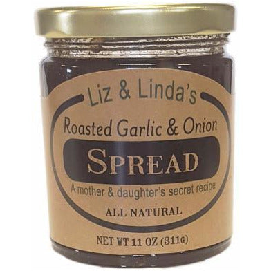 Liz and Linda's Roasted Garlic & Onion Spread - Smockingbird's