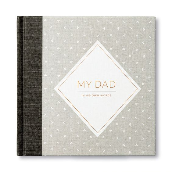 My Dad (in his own words) Gift Book - Smockingbird's