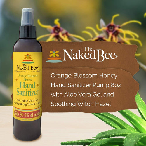 Naked Bee Orange Blossom Honey Hand Sanitizer - Smockingbird's
