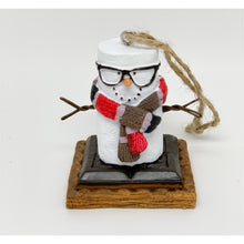 Load image into Gallery viewer, Nerd S'Mores Ornament - Smockingbird's