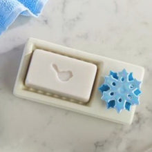 Load image into Gallery viewer, Nora Fleming Soap Dish with Snowflake Mini - Smockingbird's