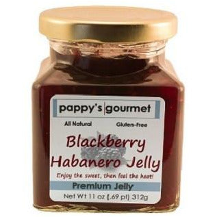 Pappy's Gourmet blackberry Habanero Pepper Jelly - Smockingbird's