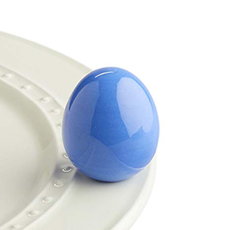 Nora Fleming Periwinkle Egg Mini