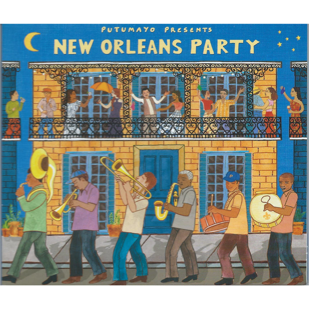 Putumayo Presents New Orleans Party Music CD - Smockingbird's