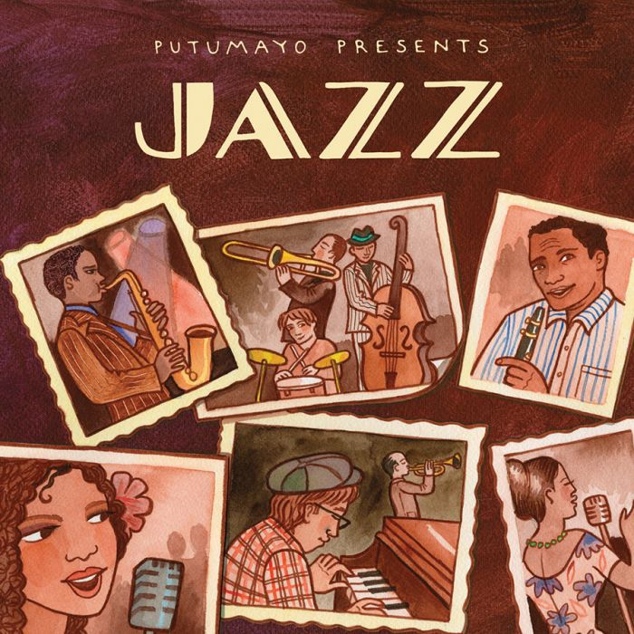 Putumayo Presents Jazz Music CD - Smockingbird's
