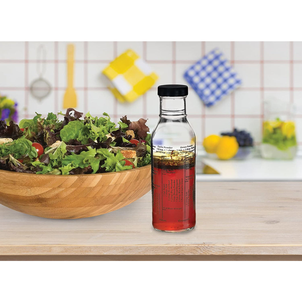 Salad Dressing Mixer Recipe Bottle - Smockingbird's Unique Gifts & Accessories,  LLC