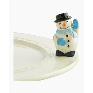 Nora Fleming Snowman Mini