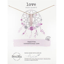 Load image into Gallery viewer, Soul Ku Dream Catcher Necklace for Love Necklace - Smockingbird's