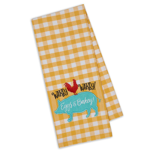 Appliquéd Dish Towels - Smockingbird's Unique Gifts & Accessories,  LLC