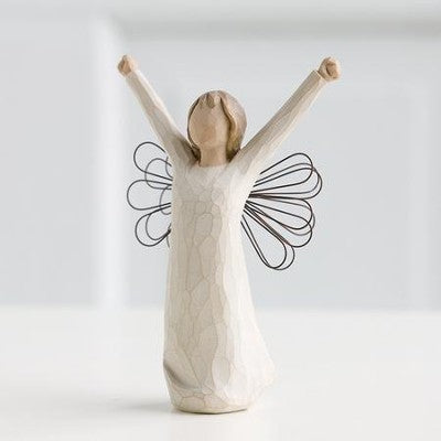Willow Tree® Courage Angel Figure - Smockingbird's Unique Gifts & Accessories,  LLC