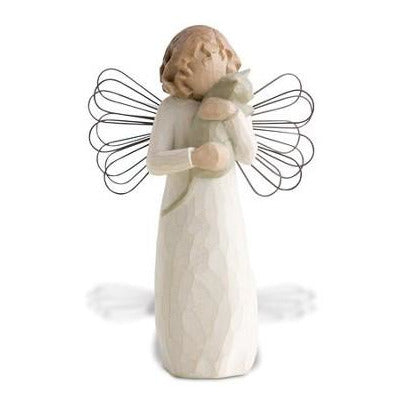 Willow Tree® With Affection Angel Figure - Smockingbird's Unique Gifts & Accessories,  LLC