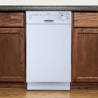 "EdgeStar BIDW1801W 18"" Built-In Dishwasher - White"