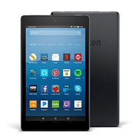 "All-New Fire HD 8 Tablet with Alexa, 8"" HD Display, 16 GB, Black - with Special Offers"