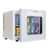 cold&warm mini refrigerator Household mini fridge small refrigeration heating sample cabinet 17L comestic refrigerator