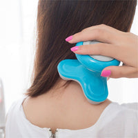 Mini Electric Handled Wave Vibrating Massager USB Battery Full Body Massage Blue NO1 Cheap massage battery