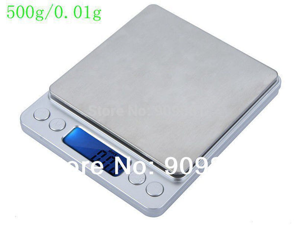 500g 0.01g Platform Kitchen Electronic Scales 500G Digital Jewelry Weighing Balance Scale 0.01 Balance Laboratory With Trays