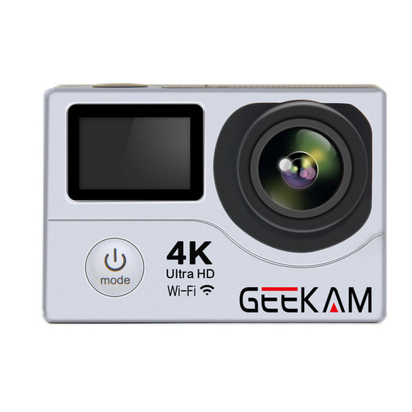 GEEKAM H3R Action Camera 4K wifi Ultra HD 1080P 60FPS 170D Sport DV Go Waterproof Pro Hero 4 Style Video Camera Photo Cam