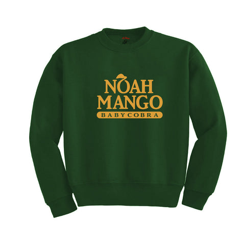 Noah Mango Crewneck Sweatshirt (Forest Green)