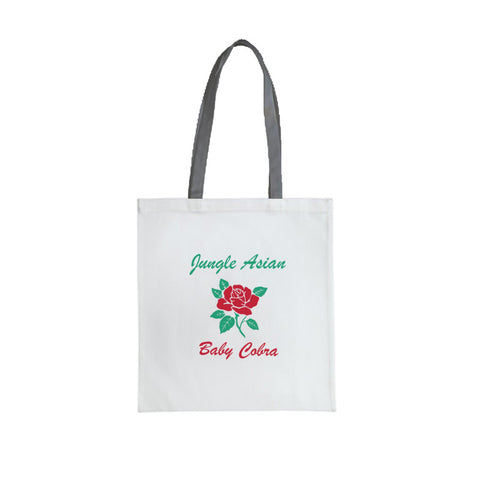 "Jungle Asian 18"" Fashion Tote Bag"