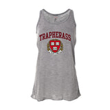 Trap Her Ass Racer Womens Tank (Heather Grey)