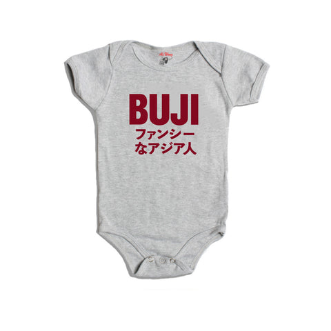 Fancy Asian Baby Onesie (Heather Grey)