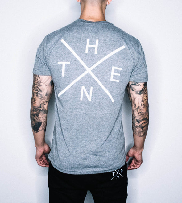 THENX GREY TEES (XX LOGO)