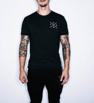 Thenx Black Tee's (X Logo)