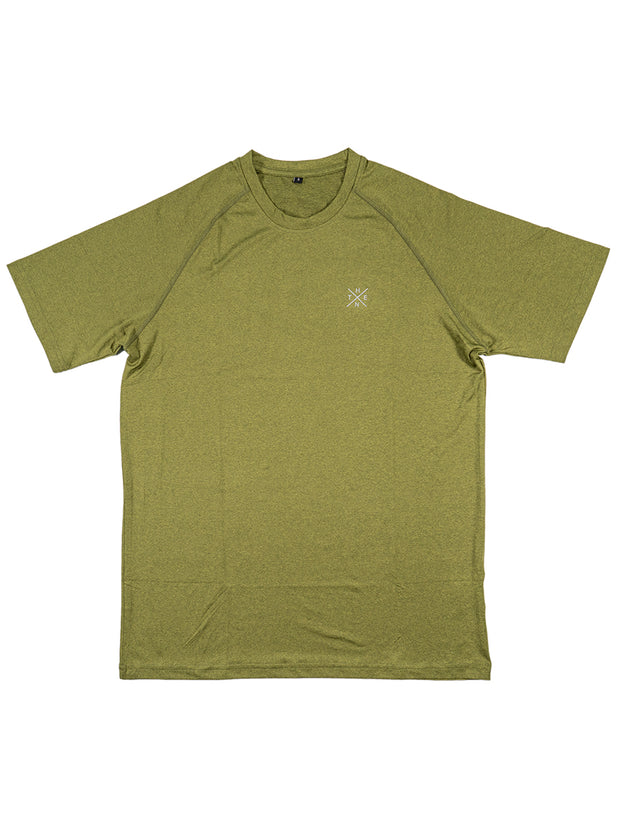 Thenx Premium Athletic XO Tee - Green