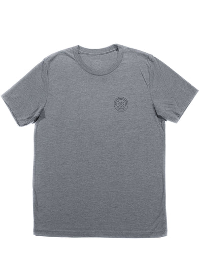 Thenx Grey Tees (O Logo)