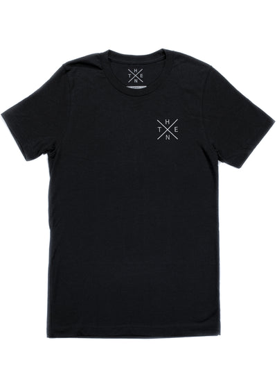 Thenx Black Tee's (XX Logo)