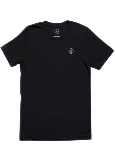 Thenx Kids Tee's (XO Logo) - Black