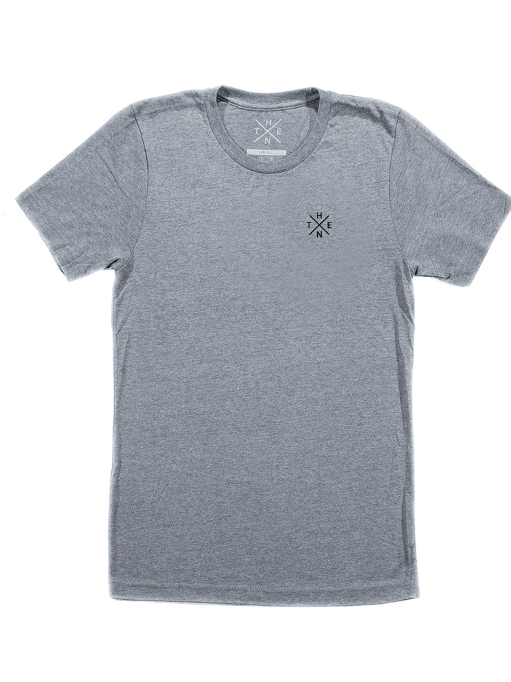 Thenx Kids Tee's (XO Logo) - Heather Grey