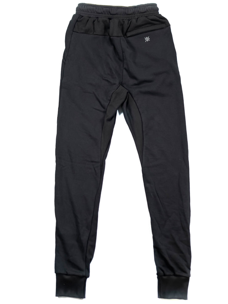 Thenx Reflective Logo Joggers - Black