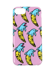 PONY BANANA DOLPHINS iPHONE CASE