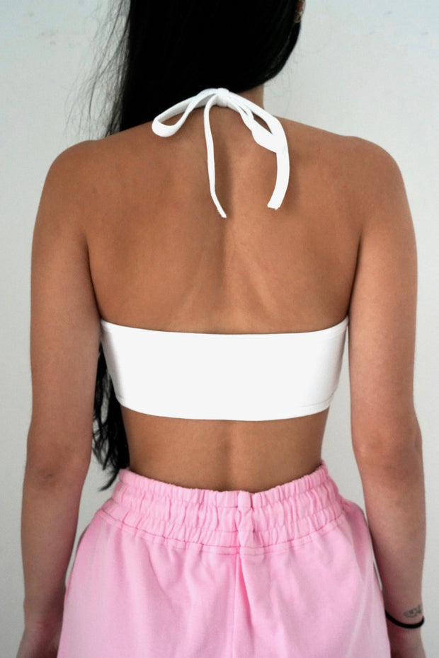 Pink Butterfly Micro Cami Top