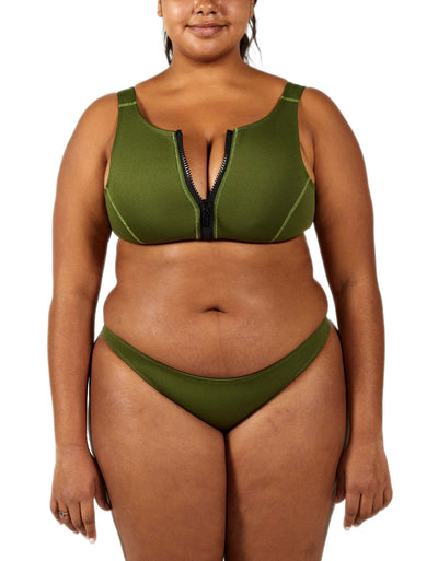 ELLIE KHAKI SET - HOAKA SWIMWEAR