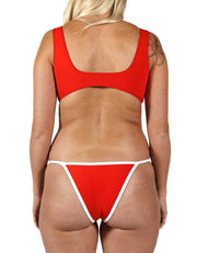 JADE RED SET - HOAKA SWIMWEAR