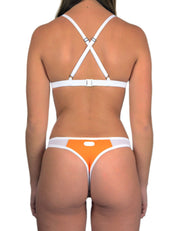 PEACH ORANGE SET - HOAKA SWIMWEAR