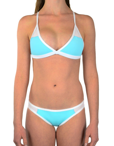 BEACHY TURQUOISE SET - HOAKA SWIMWEAR