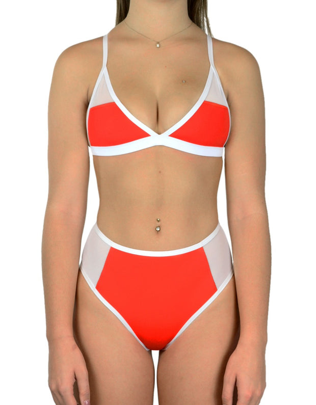 ISLAND RED SET - HOAKA SWIMWEAR