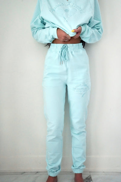 Blue Tennis Joggers