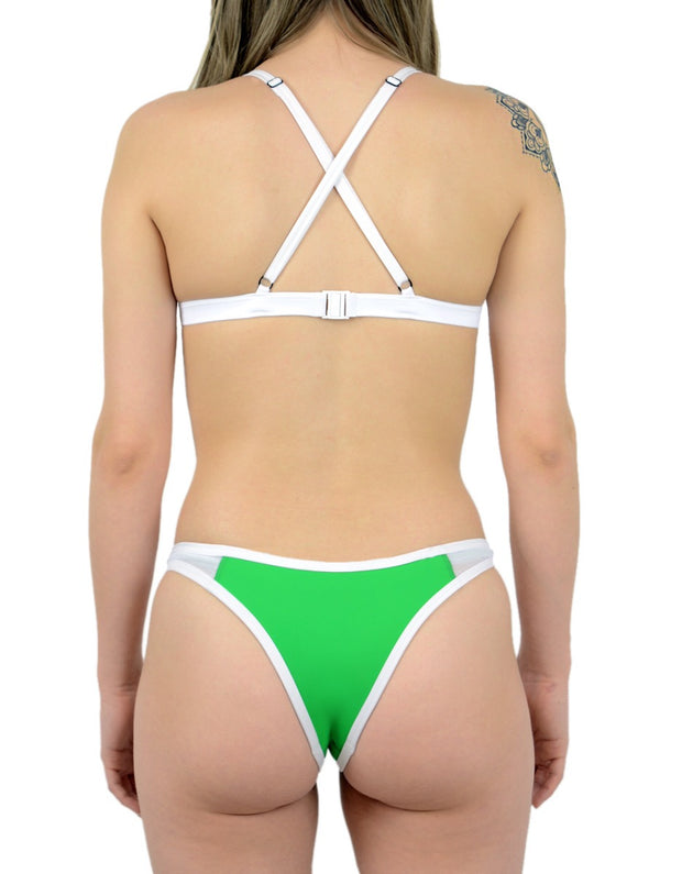 WESLIE GREEN SET - HOAKA SWIMWEAR