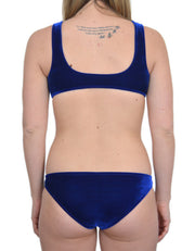 JULIA ROYAL VELVET SET - HOAKA SWIMWEAR
