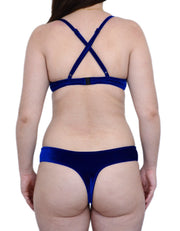SAMIA ROYAL VELVET SET - HOAKA SWIMWEAR