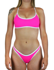 SAVANNAH NEON PINK SET