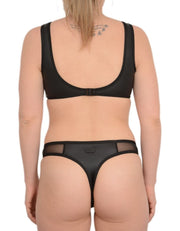 NOIR BLACK SET - HOAKA SWIMWEAR