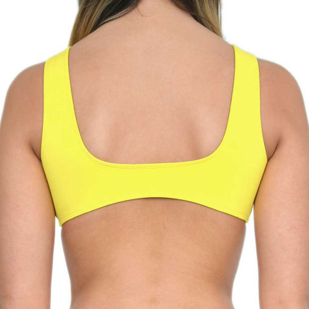 JO YELLOW TOPS - HOAKA SWIMWEAR