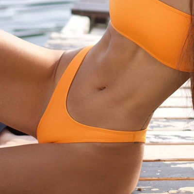 ORANGE BOTTOMS - HOAKA SWIMWEAR