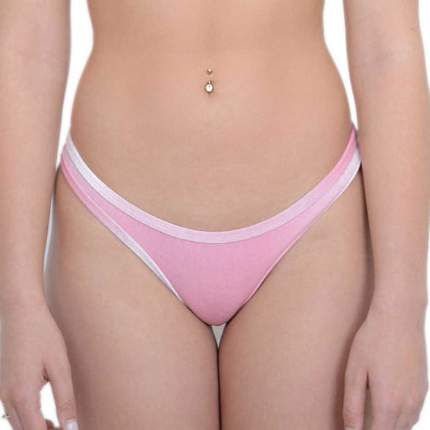 PINK VELVET BOTTOMS - HOAKA SWIMWEAR