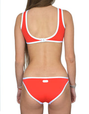 WAIKIKI RED SET - HOAKA SWIMWEAR